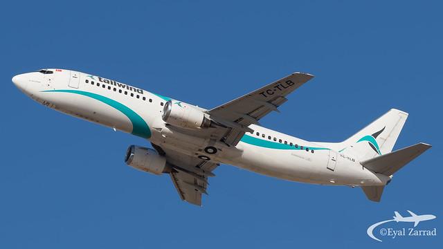 TLV - Tailwind Boeing 737-400 TC-TLB