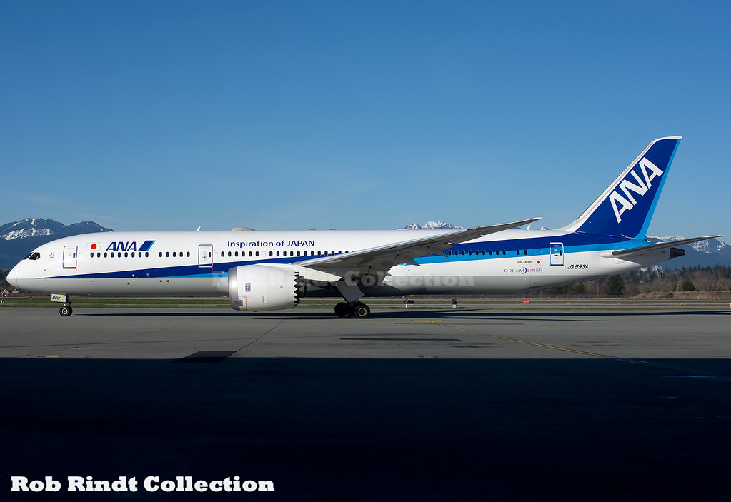 All Nippon Airways B787-9 JA893A