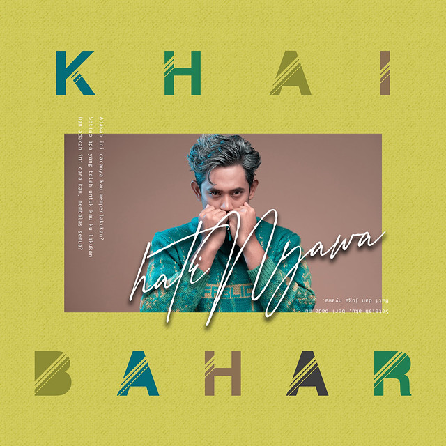 Khai Bahar - HatiNyawa - Cover Art