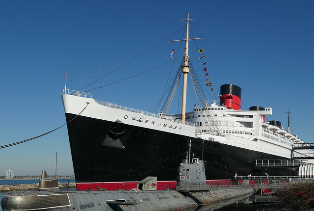 Queen Mary. Long Beach.