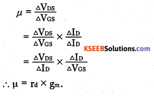 2nd PUC Electronics Question Bank Chapter 1 Field Effect Transistor (FET) 6