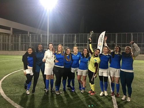 Oliver Wyman, subcampeón de Segunda División del Apertura Femenino