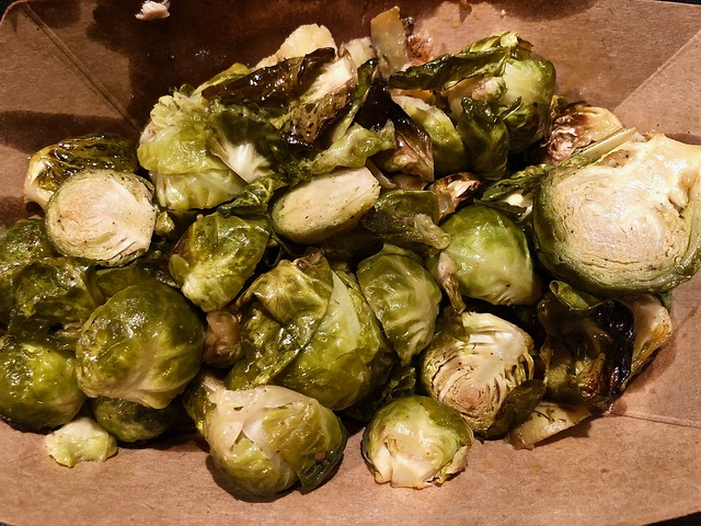 brussels sprouts from Roadside Rotisserie SF