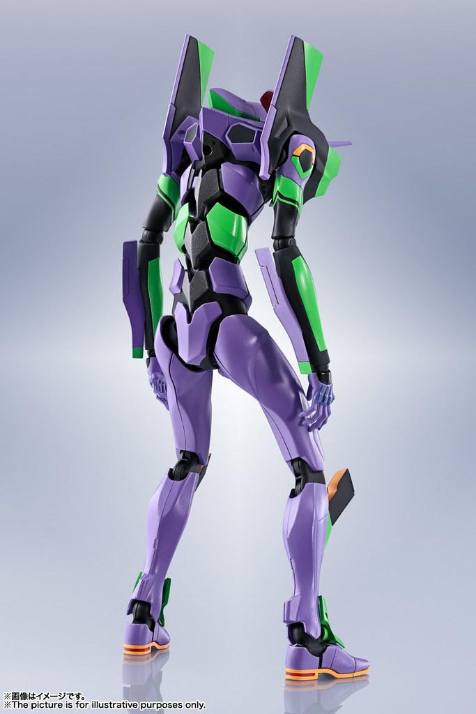 新規造型與究極可動 ROBOT魂《新·福音戰士劇場版:│▌》EVANGELION 初號機(エヴァンゲリオン初号機)-新劇場版-