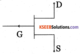 2nd PUC Electronics Question Bank Chapter 1 Field Effect Transistor (FET) 2