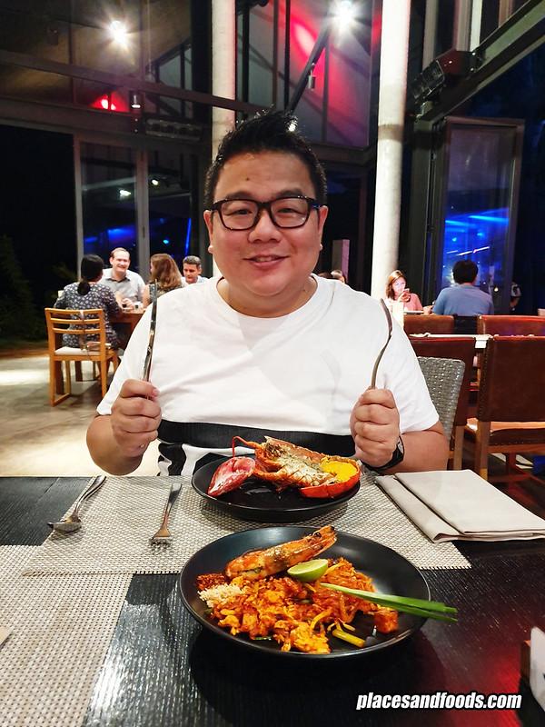 la vela khao lak dinner