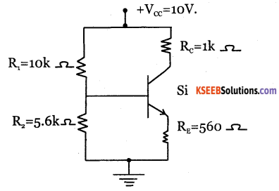 2nd PUC Electronics Question Bank Chapter 2 Transistor Biasing 14
