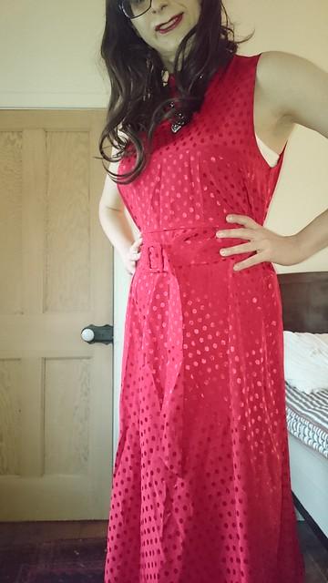 New Red Dress