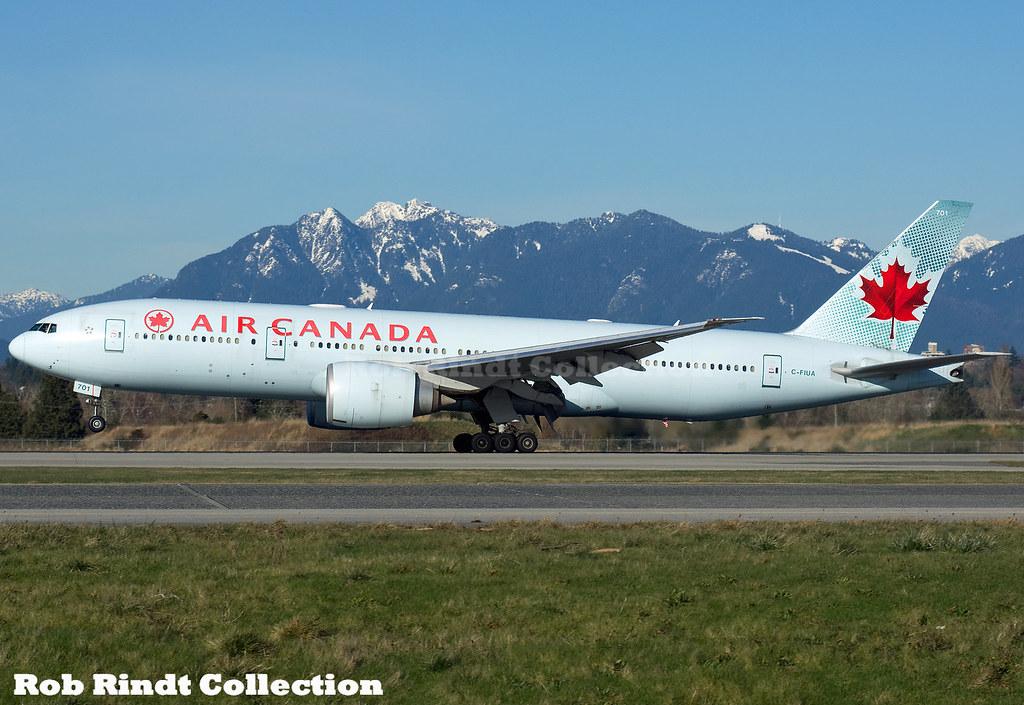 Air Canada B777-233LR C-FIUA
