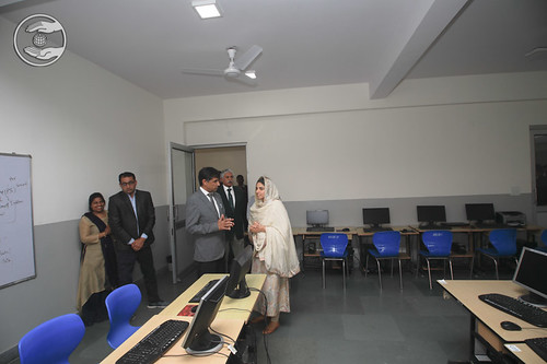 HH visited Computer Lab and Smart Class