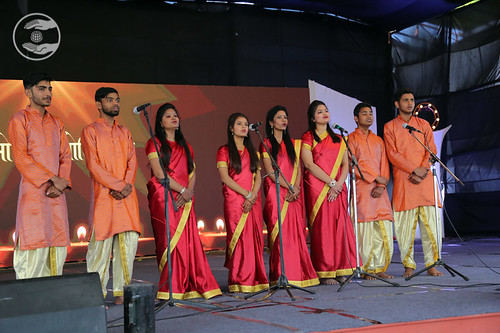 Sampuran Hardev Bani Shabad presented by the students of the college