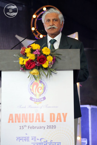 Welcome Address by RS Manhas Ji, President of NBGSM