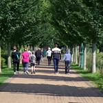 Walking at Miller Park, Preston