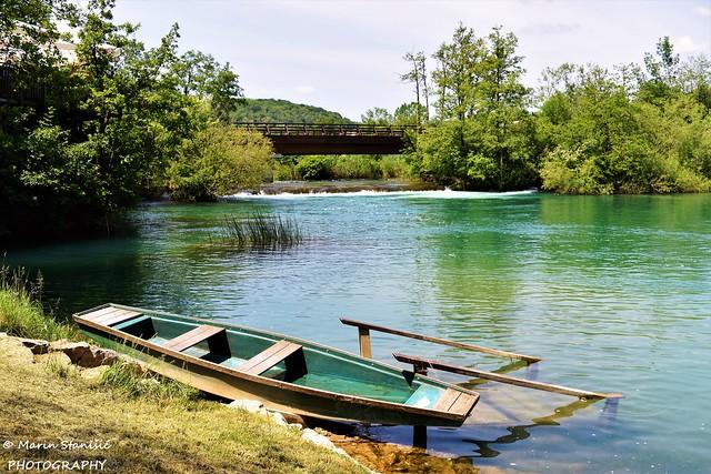 River Mrežnica, Croatia - Waiting for the tourist.....