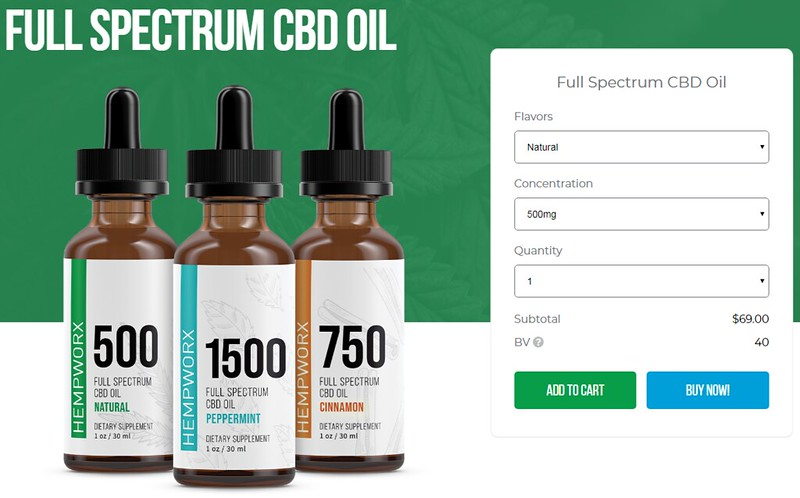 hempworx full spectrum cbd oil