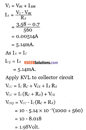 2nd PUC Electronics Question Bank Chapter 2 Transistor Biasing 16