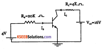 2nd PUC Electronics Question Bank Chapter 2 Transistor Biasing 8