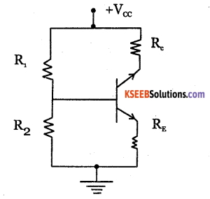 2nd PUC Electronics Question Bank Chapter 2 Transistor Biasing 5