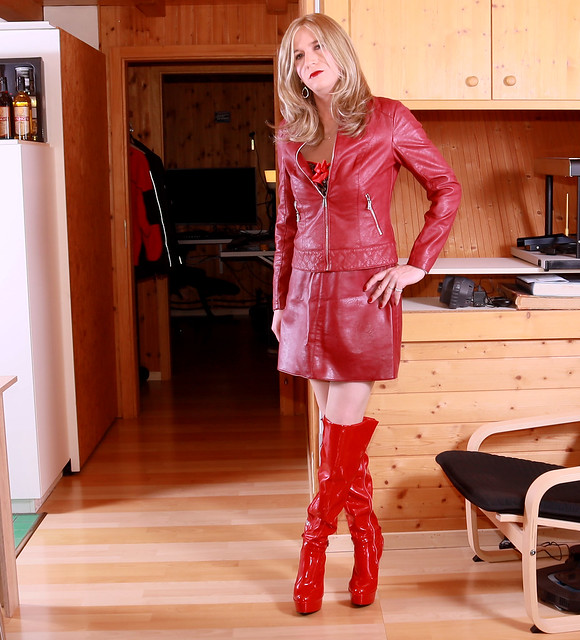 I like my Red Leather