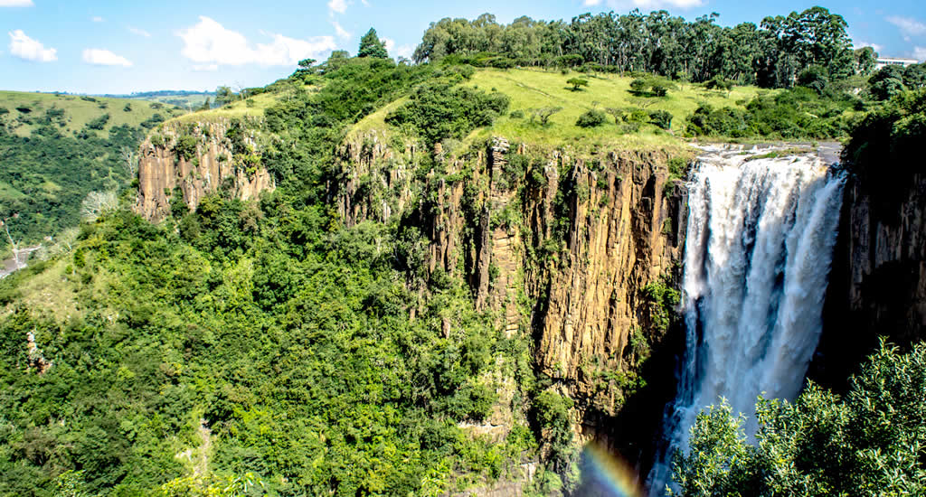 Howick Falls, Zuid-Afrika | Mooistestedentrips.nl