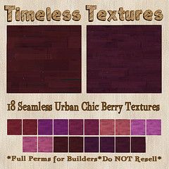 TT 18 Seamless Urban Chic Berry Timeless Textures