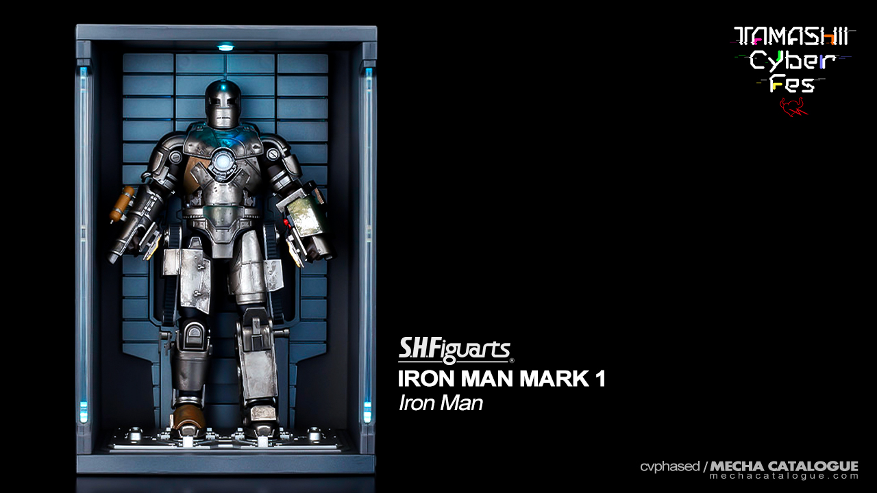 2020 Release Confirmed! S.H.Figuarts Iron Man Mark 1