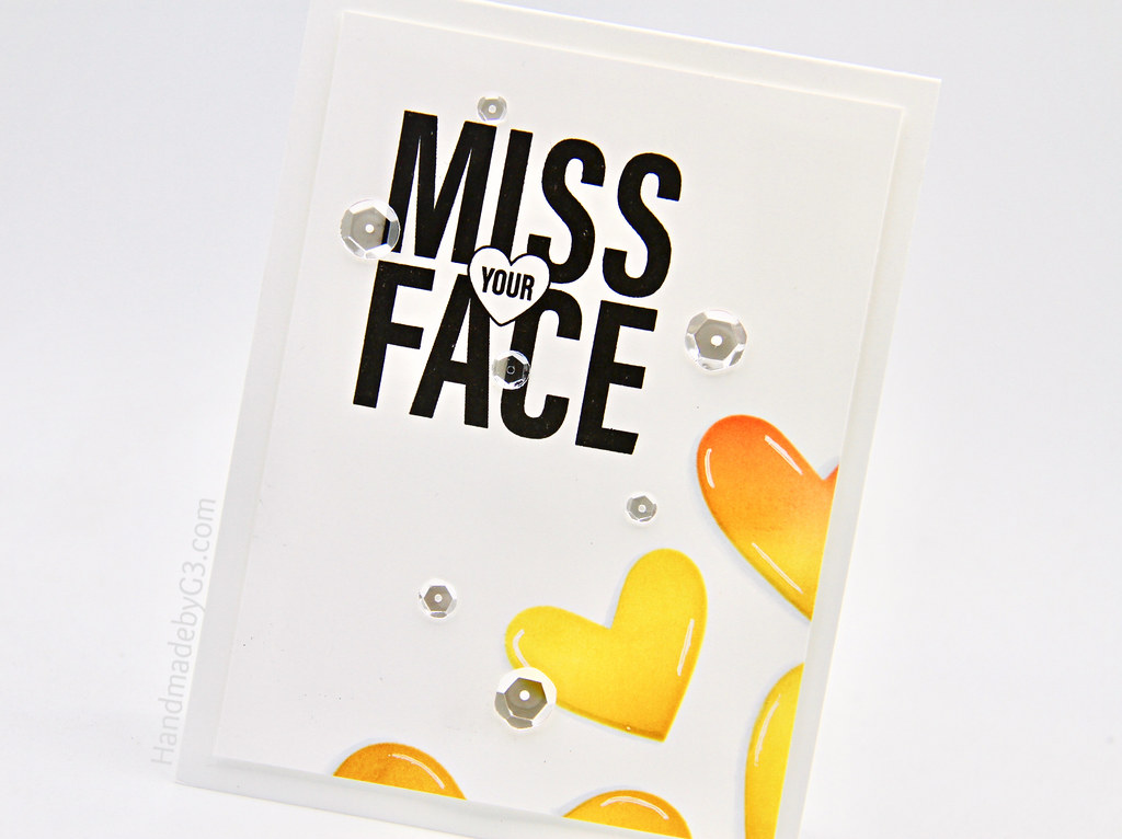Miss Your Face card closeup (1)