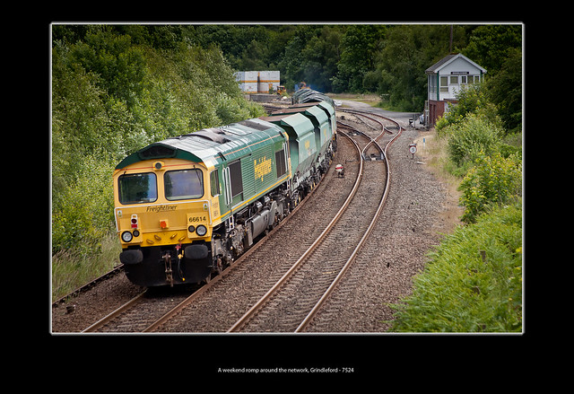 A weekend romp around the network, Grindleford - 7524