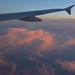 Evening light at 30,000 feet