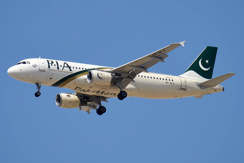 Pakistan International Airlines, AP-BLZ, Airbus A320-216 | by Anna Zvereva