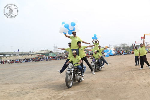 Motorbike Rally by unit No.414, Gobindpuri