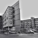 Picturing Preston - student accommodation on Fylde Road