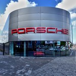 Picturing Preston - Porche showroom