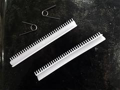 SET 2 RASCHIATORI PER RULLI PASTA IMPERIA 2mm