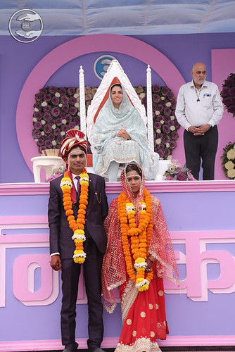 Couples seeking blessings