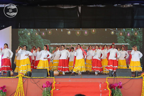 Haryanvi Dance presented by the students