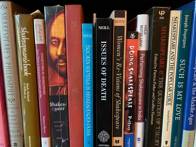 City Library - Shakespearean Jonathan Gil Harris's Books, Hauz Khas