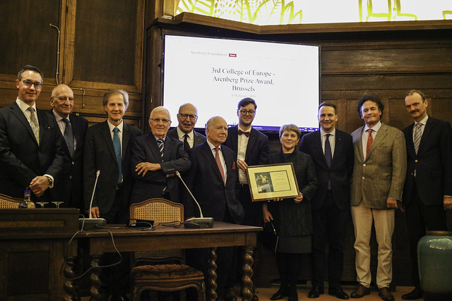 """The College of Europe – Arenberg European Prize"" Award Ceremony 2020 - 19.02.2020"