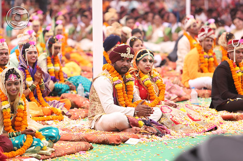 A wide view of Mass Marriage