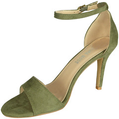 Brittan Green Peeptoe Wedding Bridemaids Shoes