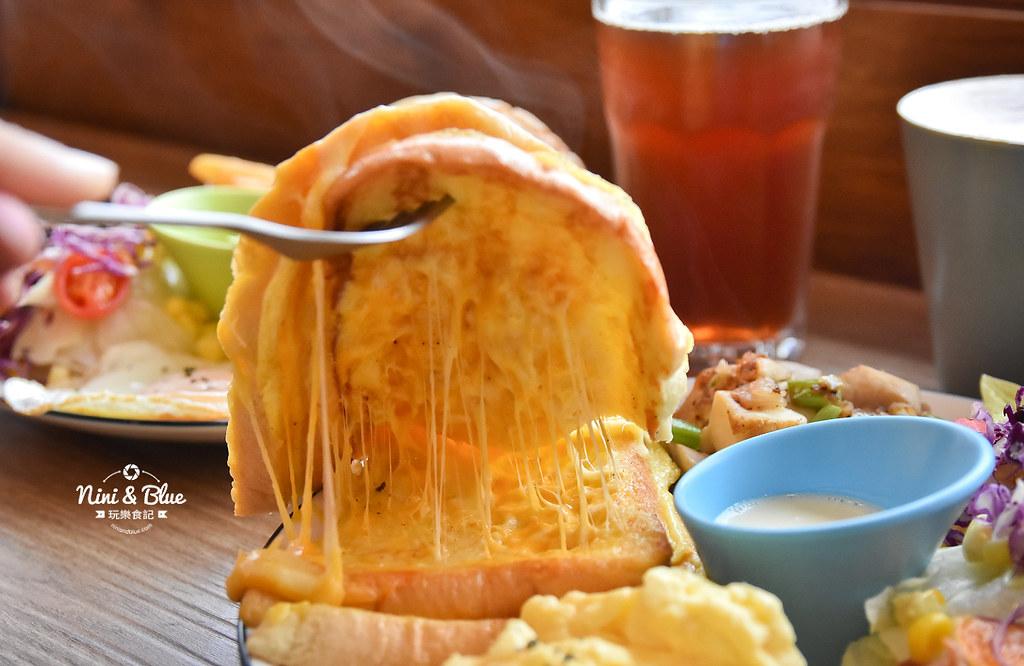 大里美食 搞岡 brunch早午餐菜單價位12