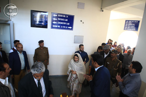 HH inaugurated the newly constructed Post Graduate Block