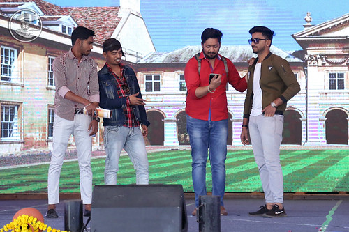 Skit played by students of NBGSM College