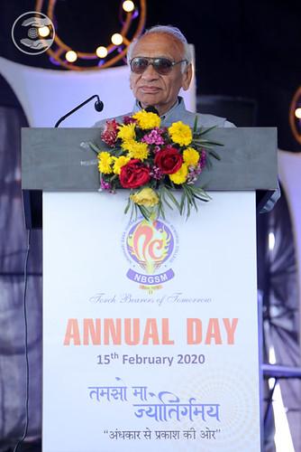 SS Kapoor Ji, General Secretary of NBGSM College, Sohna