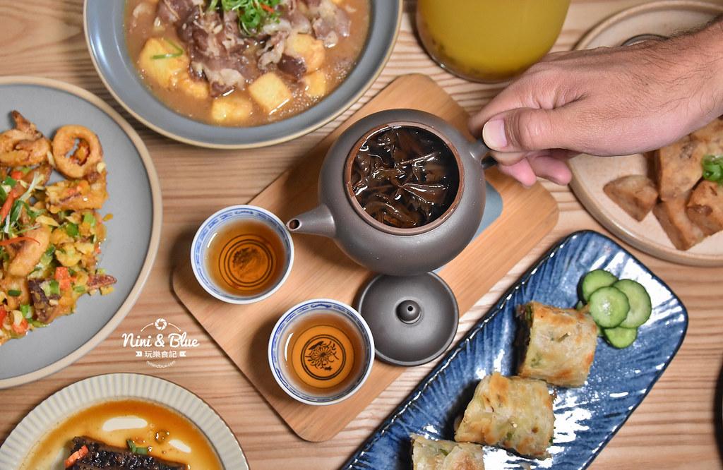 台中茶館 hechino做茶菜 勤美 草悟道35