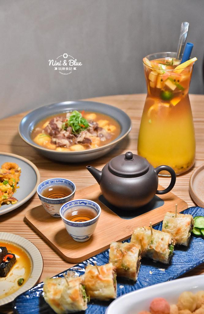台中茶館 hechino做茶菜 勤美 草悟道34