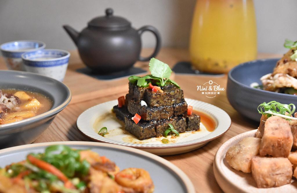 台中茶館 hechino做茶菜 勤美 草悟道17