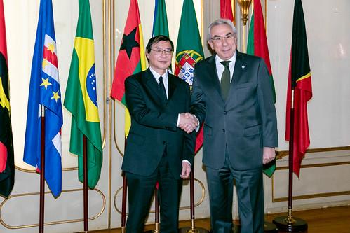 20.02. Secretário Executivo recebe cartas credenciais do Embaixador do Japão em Portugal