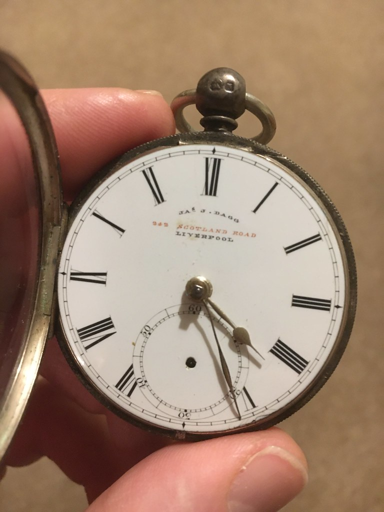 JJ Dagg pocket watch.