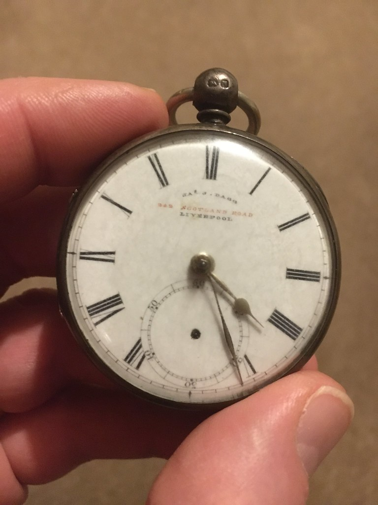 JJ Dagg pocket watch